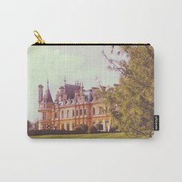 Country Manor House Carry-All Pouch
