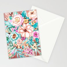SMELLS LIKE COFFEE BY THE OCEAN Stationery Cards