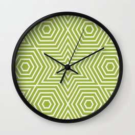 Op Art 21 Wall Clock