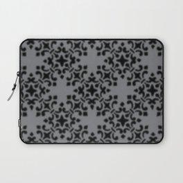 Vintage Brocade Damask Sharkskin Laptop Sleeve