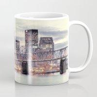 kentucky Mugs featuring Louisville Kentucky by ThePhotoGuyDarren