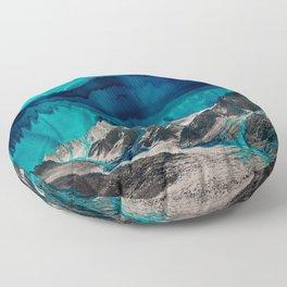 Skyfall, Melting Blue Sky Floor Pillow