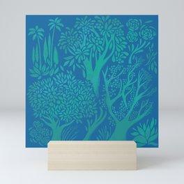 Blue Forrest Mini Art Print