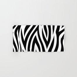 Large Zebra Animal Print Hand & Bath Towel