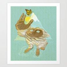 The End Of Hibernation Art Print