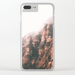 Utah II Clear iPhone Case