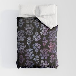 Floral Constelations pattern Comforters