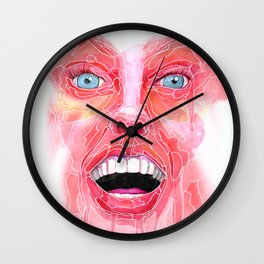 Your Expression Puzzles Me Wall Clock