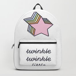 twinkle twinkle little star Backpack