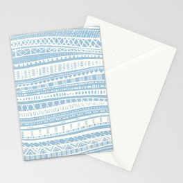 Sweater Weather in Blue Stationery Cards