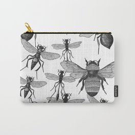 Bees and wasp Flying Carry-All Pouch