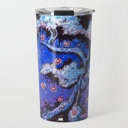 Ninja and the tree of lights Travel Mug