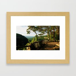 Cloudland Canyon Framed Art Print