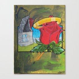 Skips Garden Canvas Print