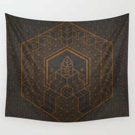 The Inner Truth Copper Wall Tapestry