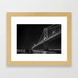 night night Framed Art Print