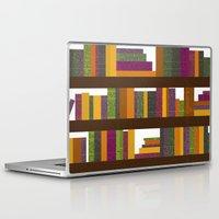books Laptop & iPad Skins featuring Books by Sara Robish Andrews