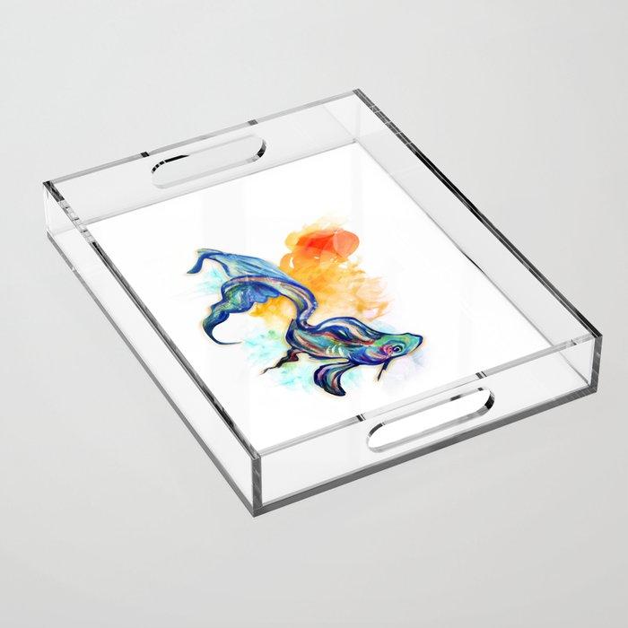 In Streams Acrylic Tray