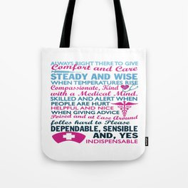 To be a Nurse Tote Bag