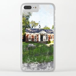 the old library Clear iPhone Case