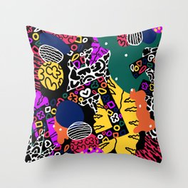 Slowdown Throw Pillow