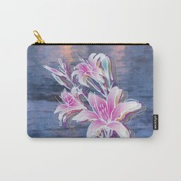 Variation of flowers - Sunset Carry-All Pouch