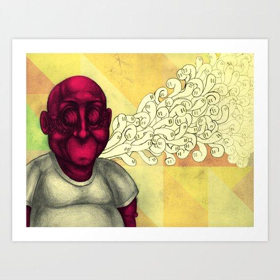 Haunted Art Print