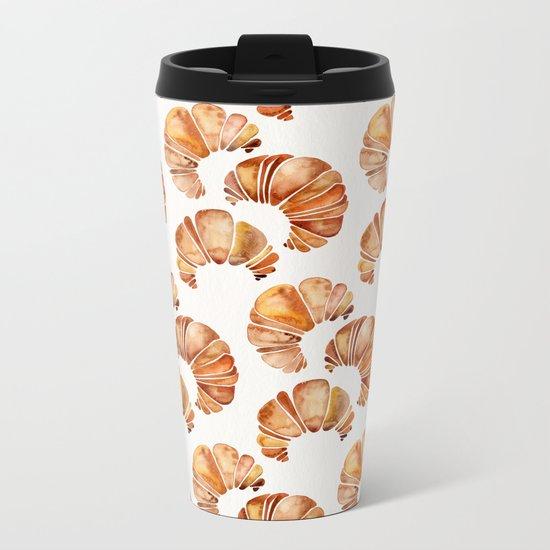 Croissant Collection Metal Travel Mug