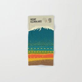 Mount Kilimanjaro Hand & Bath Towel