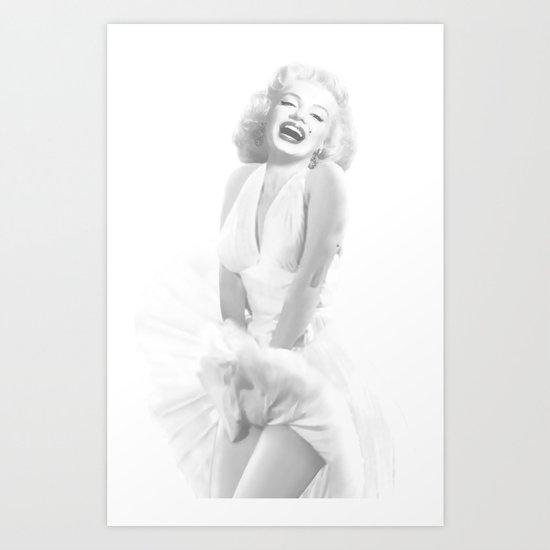 Marilyn Monroe. Art Print