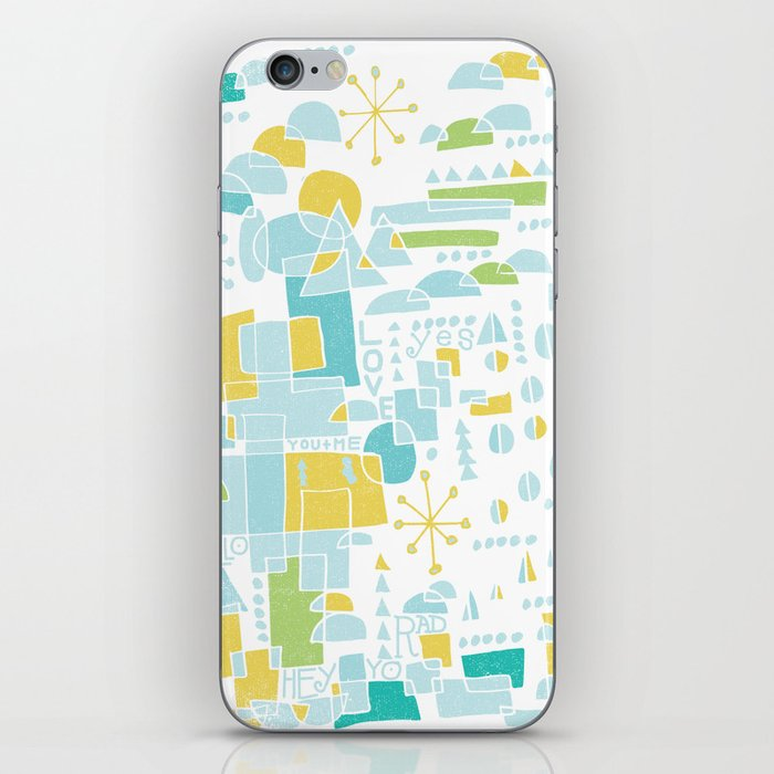 ABSTRACT LANDSCAPE iPhone Skin