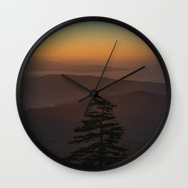 Great Smoky Mountains #society6 #decor #buyart Wall Clock