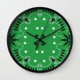 Weed Gang Wall Clock