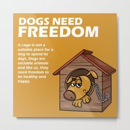 Doggy Tip 2 Metal Print