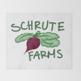 Schrute Farms Throw Blanket