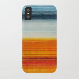Yellowstone Orange iPhone Case
