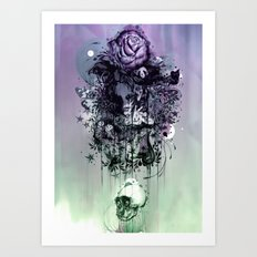 Doom and Bloom Art Print