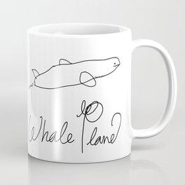 Whale Plane  Coffee Mug