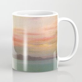 Sunset Salt Lake Coffee Mug
