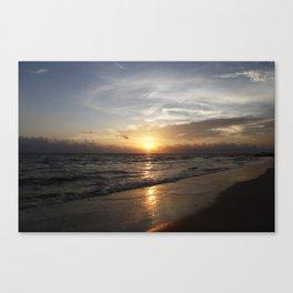 Bonita Beach Sunset Canvas Print