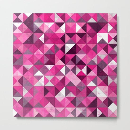 Lovely Geometric Background III Metal Print