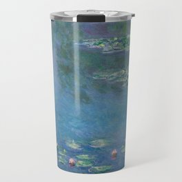 Water Lilies, Claude Monet,1840-1926 Travel Mug