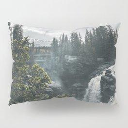 Athabasca Falls Alberta Pillow Sham
