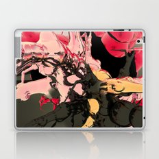 fleur les mot Laptop & iPad Skin