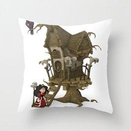 The Tree House  Throw Pillow