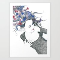 Blooming Youth Art Print