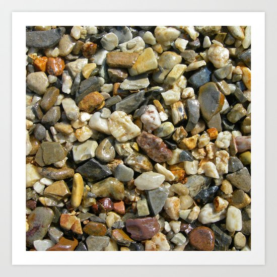 pebble stone I Art Print