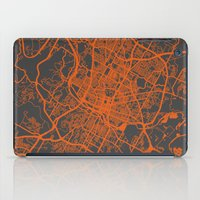 austin iPad Cases featuring Austin map by Map Map Maps