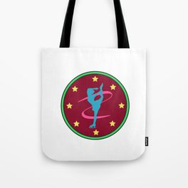 Lovely Gift Ice Skating Tshirt Design Born to ice skate Tote Bag