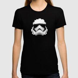 Vintage 2017 Storm Trooper Helmet Pixel - Starwars T-shirt